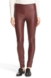 Theory Women's Adbelle L2 Bristol Leather Leggings