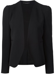 Narciso Rodriguez Collarless Blazer Black