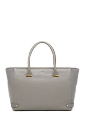 Lk Bennett Jerry Leather Tote Brown