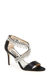 Badgley Mischka Women's Crystal Embellished Sandal