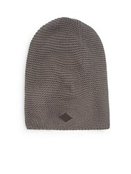 Cole Haan Garter Knit Hat Storm Cloud