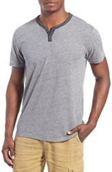 Men's Lucky Brand 'Notch' Short Sleeve Henley