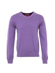 6Th Sense Plain Mdv Knitwear For Men Lilac