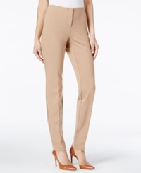 Alfani Petite Hollywood Skinny Pants Only At Macy's Modern Camel
