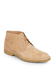 Saks Fifth Avenue Gere Chukka Boots Wheat