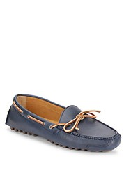 Cole Haan Gunnison Leather Moccasins Blazer Blue