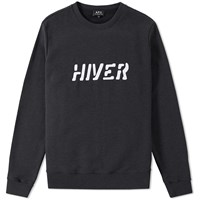 A.P.C. Hiver Crew Sweat Grey
