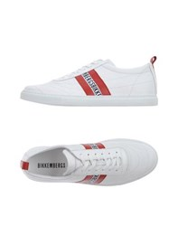 Bikkembergs Footwear Low Tops And Trainers Men White
