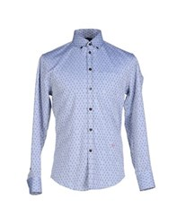 People Shirts Shirts Men Pastel Blue