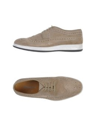 Bagatt Lace Up Shoes Beige