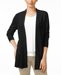 Charter Club Cashmere Duster Cardigan Only At Macy's Classic Black
