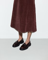Yang Li Penny Loafer Dark Red