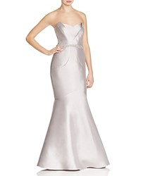Js Collections Strapless Mermaid Gown Taupe