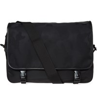 Moncler Louis Camo Messenger Bag Black