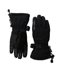 Spyder Traverse Gore Tex Ski Gloves Black Silver 1 Ski Gloves