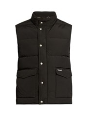 Woolrich Auletian Down Gilet Black