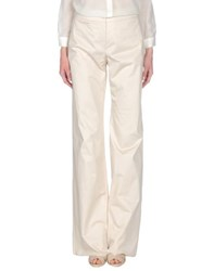 Armani Collezioni Trousers Casual Trousers Women Beige