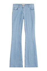 Michael Kors Collection Flared Jeans Blue