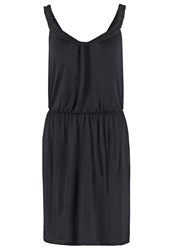 Twintip Jersey Dress Black