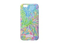 Lilly Pulitzer Iphone 6 Cover Seaspray Blue Lovers Coral Cell Phone Case Multi