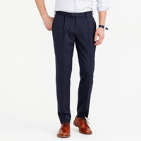 J.Crew Bowery Pleated Pant In Wool
