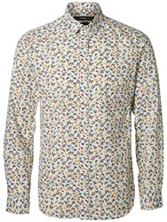 Selected Homme Shx One Butterfly Shirt White