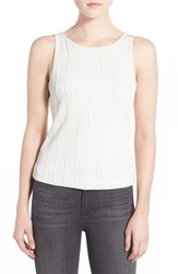 Chelsea 28 Women's Chelsea28 Cutout Back Stretch Knit Sleeveless Top