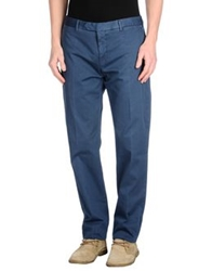 Santaniello And B. Casual Pants Slate Blue