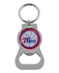 Aminco Philadelphia 76Ers Bottle Opener Keychain Team Color