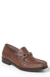 Sandro Moscoloni Men's Genoa Bit Loafer Brown Leather