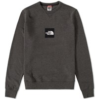 The North Face Logo Crew Sweat Grey