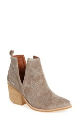 Jeffrey Campbell Women's 'Asterial' Star Studded Bootie Taupe Silver Suede