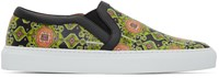 Givenchy Multicolor Carpet Print Slip On Sneakers