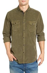Jeremiah Men's 'Jaymes' Pigment Dyed Corduroy Shirt Forrester