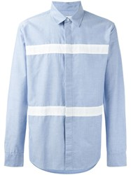 Soulland 'Asklund' Striped Shirt Blue