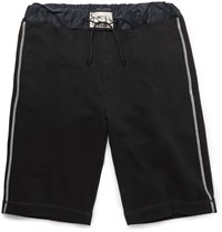Marc Jacobs Drawstring Cotton Shorts Black