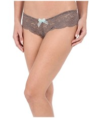 B.Tempt'd Ciao Bella Tanga Cappuccino Women's Underwear Brown
