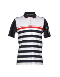 Emporio Armani Ea7 Topwear Polo Shirts Men White