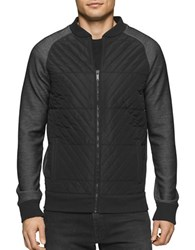 Calvin Klein Jeans Colorblock Quilted Jacket Black