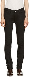 A.P.C. Black Slim Moulant Jeans