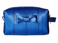 Harveys Seatbelt Bag Mini Bow Dopp Kit Cobalt Handbags Blue