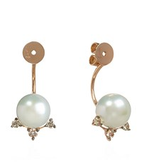 Annoushka Diamonds And Pearls Earring Backs Female