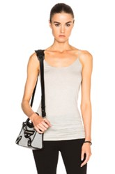 Helmut Lang Long Tank Top In Gray