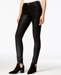 Rachel Rachel Roy Skinny Metallic Black Wash Jeans