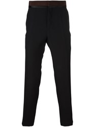Haider Ackermann Flared Tailored Trousers Black