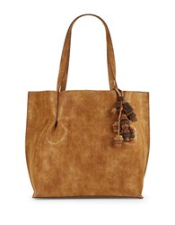 Steve Madden Lita Faux Leather Tote Tan
