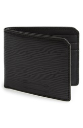 Ben Minkoff Embossed Leather Wallet Black