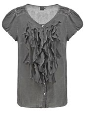 Saint Tropez Blouse Tower Grey