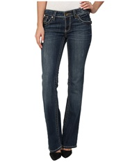 Kut From The Kloth Kate Low Rise Bootcut In Effect Effect Women's Jeans White