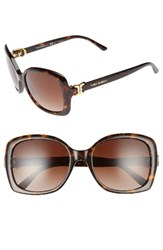 Tory Burch Women's 57Mm Oversized Sunglasses